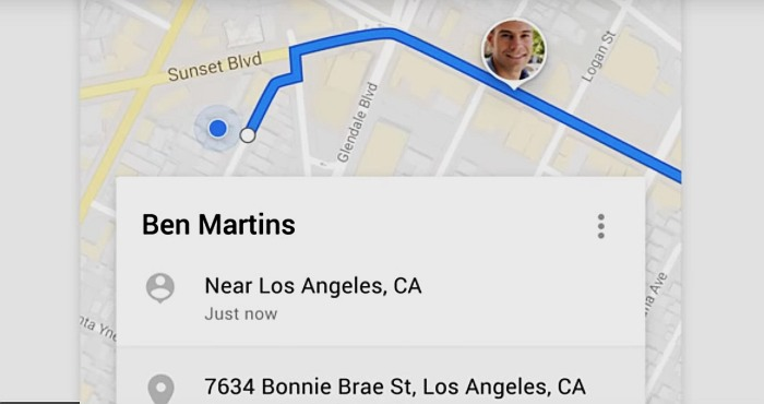 Google Maps now allows you to Share your Location with Friends